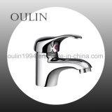Mélangeur en laiton moderne de robinet d'eau de lavage de robinet de toilettes de chrome