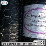' плетение цыплятины PVC ширины 4 Coated Hex