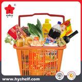 Cesta plástica para o piquenique Home usado para o supermercado