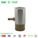 Flexible de carburant en laiton adaptateur coaxial Joint d'accouplement de buse (TDW-CA)