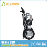 Cadeira de rodas elétrica de alumínio de dobramento portátil de pouco peso compata