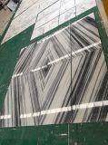 중국 대리석 공장 지면 디자인 Marmara 백색 패턴 3D 대리석 도와