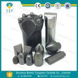 텅스텐 탄화물 단추, 시멘트가 발라진 Carbidebutton 의 훈련을%s 텅스텐 탄화물 단추
