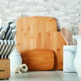 Вырезывание/разделочная доска Kitchenware тавра Anconalife Bamboo