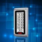 Control de acceso independiente de la tarjeta de la pantalla táctil del metal de la seguridad RFID