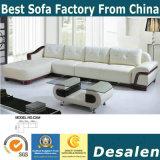 L sofà del cuoio della mobilia dell'ingresso dell'hotel di figura (C25)