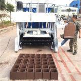 Bloco concreto móvel da colocação de ovo que faz a máquina