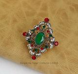 Los pasadores de traje Corsage broche Cristal circón Joias Turco auspiciosa delicado regalo mujer Joyería turca (BR-14)