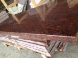 De granito rojo sudafricano baldosas pulidas losas&+encimera