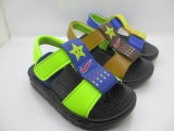 Santal plat de gosses d'enfants correctifs colorés de chaussures