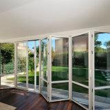Het hete Frame die van het Aluminium van het Glas van de Verkoop Dubbele de Redelijke Prijs van de Deur vouwen