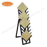 Suelo de baldosa de granito de metal Showroom Exposición Mostrar Rack