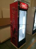 360L utilizados frigoríficos comerciais para venda Uptight Mostruário de exibição