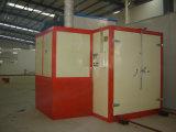Автоматический завод покрытия порошка с лечить печь