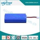 Batterie au lithium des batteries 7.4V 2200mAh d'homologation de kc pour le scooter