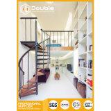 屋内鉄骨構造の螺旋階段現代功妙な階段デザイン