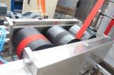 Los dos extremos del cinturón de seguridad del automóvil Webbings teñido de continuo de la máquina