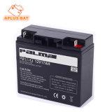 Batteries solaires 12V17ah d'UPS de cycle profond pour le bloc d'alimentation Emergency