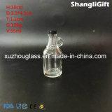 Botellas de licor de vidrio con empuñadura de 40ml