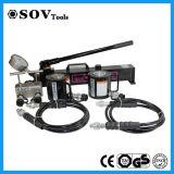Pompe à main hydraulique de couleur noire