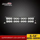 Barra ligera campo a través de la pulgada 300W LED del doble 27.5 para los carros