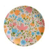 (BC-P1011) Plaque ronde de vaisselle en bambou normale de fibre