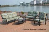 Mobilia del giardino del gruppo di chiacchierata del sofà della fusion d'alluminio