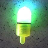 釣ざおの先端の殴打のかみ傷警報は2つの鐘クリップ夜LEDライトを驚かす