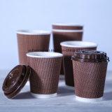 정밀한 Qualtiy에 의하여 격리되는 잔물결 최신 커피 종이컵