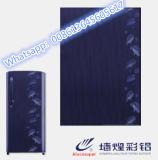 A cor de Ral 5016 do teste padrão revestiu a bobina de aço para a porta do refrigerador