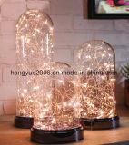 2018 Fashiondecorations LED de luz de techo de cristal de Navidad