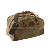 Mens фасонируют навощенный мешок Duffle холстины для перемещать или путешествовать