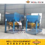 Spannvorrichtungs-Maschine für Sand-Goldtrennung