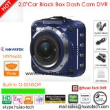 """Hete Verkoop 2.0 """" de Camera van de Auto HD1080p met Ntk96220; G-sensor; WDR; Functie dvr-2006 van de Visie van de nacht"""
