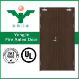 Porta antincendio di legno con il certificato dell'UL