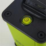 12 linhas nível giratório do laser do verde 3 anti