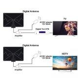 Antena de interior amplificada LAN-1040 de Digitaces TV de la antena de la TVAD rango de 50 millas con el amplificador de la fuente de alimentación para