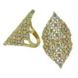 2017 de nieuwe Vrouwen van de Juwelen van de Manier verzilveren Echte Ring (R10977)