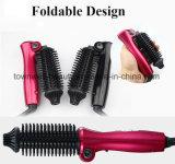 Cepillo caliente de la varita del pelo que se encrespa ligero plegable popular para el recorrido