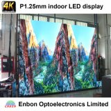 De gama alta Uhd 4k 1.66mm Cubierta De Pantalla LED Video Wall
