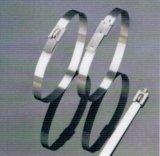 Ss301 bedekte de Semi Polyester van Loack van de Bal de Roestvrije Banden van de Kabel met een laag