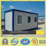 O projeto móvel da casa do recipiente