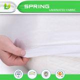 Técnicas hechas punto y protector impermeable del colchón del uso del hogar