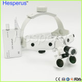 3.5X / 2,5 x Magnifying Loupes Dental com Lupa Hesperus faróis LED