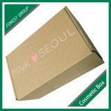 싼 가격 색깔에 의하여 인쇄되는 물결 모양 Shippping 판지 상자