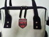 Sacchetto di Tote creativo della borsa di disegno della tela di canapa multifunzionale di modo con la cinghia di spalla