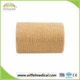 広く利用された工場製造された最上質の凝集の伸縮性がある包帯