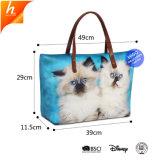 Неопреновые Cat тематические дамской сумочке женская сумка Dropshipping большого размера