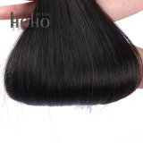 Fashionable Cabelo humano 20 Polegadas Anel Micro Preto Extensão de cabelo