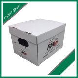 Rectángulo de almacenaje impreso aduana reciclable